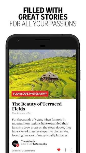 دانلود Flipboard – Latest News, Top Stories & Lifestyle 4.2.54 برنامه اخبار برتر روز اندروید