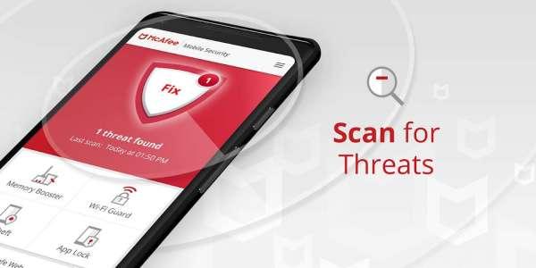 دانلود McAfee Mobile Security & Lock 5.7.0.534 برنامه آنتی ویروس مکافی اندروید