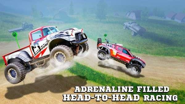 دانلود Monster Truck Racing 2021 3.4.261 بازی مسابقه ای ماشین های غول پیکر اندروید + دیتا + مود