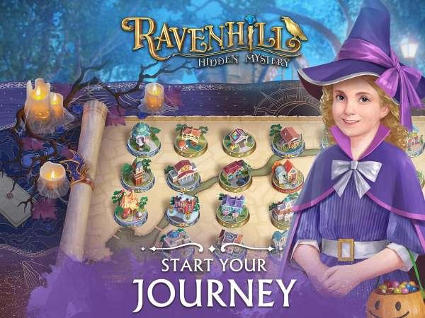 دانلود Ravenhill®: Hidden Mystery 2.23.2 بازی ماجراجویی ریون هیل و راز رمز پنهان اندروید + مود + دیتا