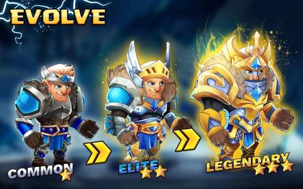 دانلود Tiny Gladiators 2: Heroes Duels 2.2.6 یازی نقش افرینی گلادیاتورهای کوچک 2 اندروید + مود