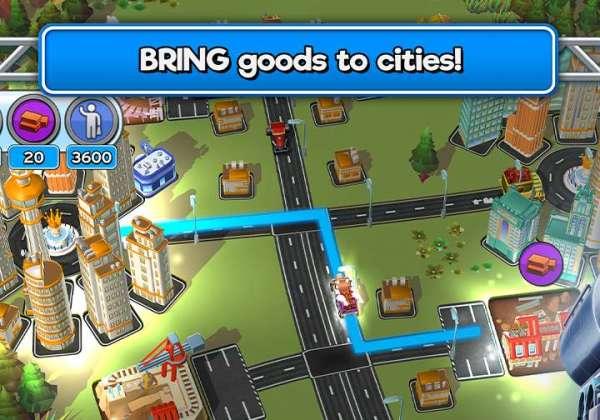 دانلود Transit King Tycoon 4.21 بازی شبیه سازی سلطان حمل و نقل اندروید + مود