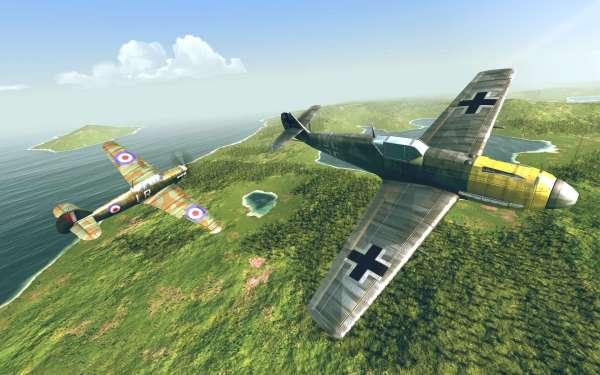 دانلود Warplanes: WW2 Dogfight 2.1.1 بازی اکشن هواپیماهای جنگی در جنگ جهانی دوم اندروید + مود