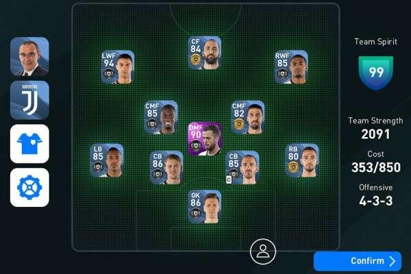 دانلود eFootball PES 2020 4.4.0 بازی فوتبال پی اس 2020 اندروید + دیتا