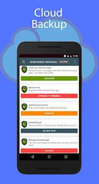 دانلود AndroHelm AntiVirus Android 2.6.6 نرم افزار آنتی ویروس اندروهلم اندروید