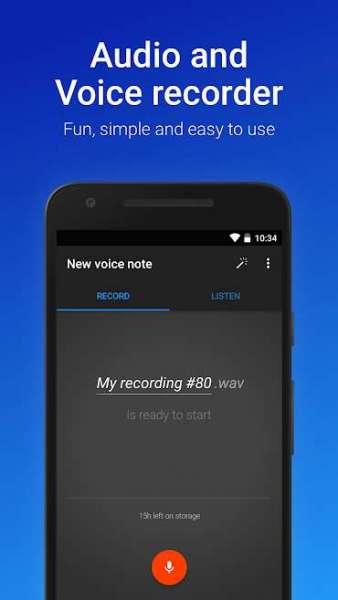 دانلود Easy Voice Recorder Pro 2.7.6.2 برنامه ضبط صدای اندروید