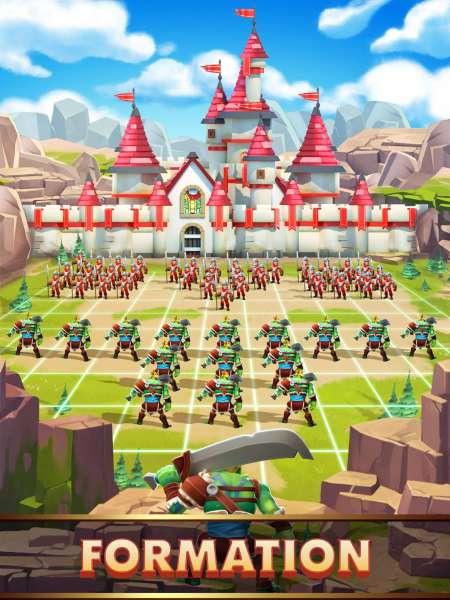 دانلود Empire: Age of Knights 2.5.8641 بازی استراتژیک زیبای عصر شوالیه های اندروید