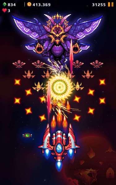 دانلود Galaxy Shooter – Falcon Squad 68.1 بازی اکشن حمله به کهکشان و جوخه شاهین اندروید + مود