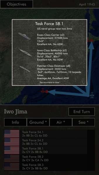 دانلود Pacific Fire 1.45 بازی استراتژیک آتش در اقیانوس آرام اندروید