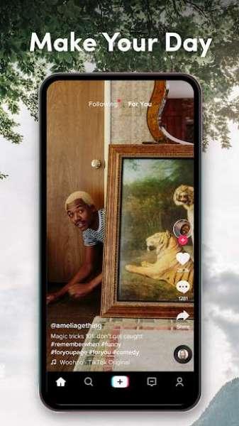 دانلود TikTok – Make Your Day 14.0.5 برنامه ساخت ویدئو برای شبکه اجتماعی  اندروید
