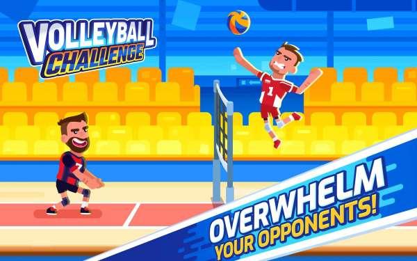 دانلود Volleyball Challenge 1.0.26 بازی ورزشی چالش های والیبال اندروید + مود