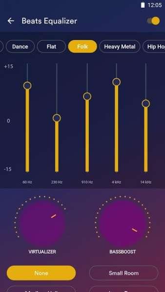 دانلود Audio Beats – Music Player Full 6.5.0+100640005 پلیر صوتی محبوب و قدرتمند اندروید