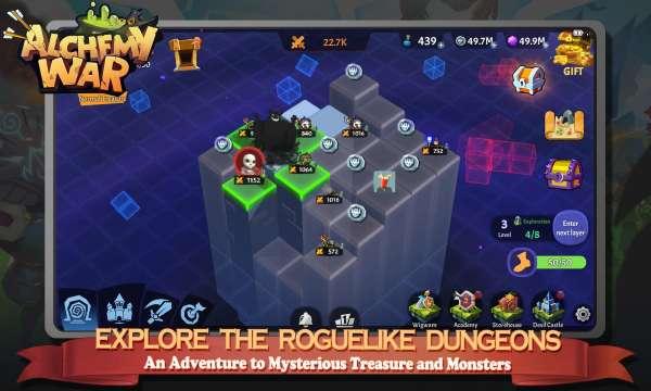 دانلود Alchemy War: Clash of Magic 1.0.1.0 بازی اندروید استراتژیک جنگ جادو و کیمیاگرها + مود + دیتا