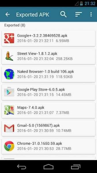 دانلود AppWererabbit 7.2.4 برنامه بک آپ و ریستور بازی و برنامه ها