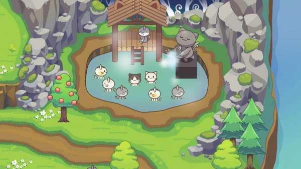 دانلود Cat Forest – Healing Camp 2.22 بازی تفننی و کودکانه اردوگاه های گربه ها اندروید + مود