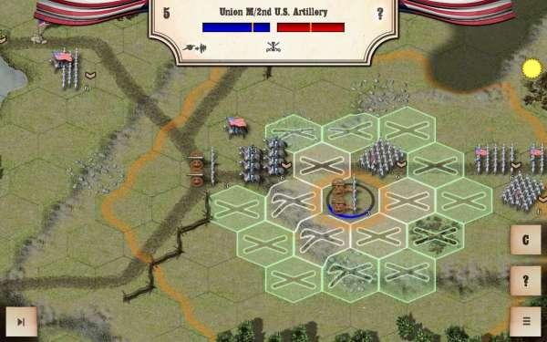 دانلود Civil War: Bull Run 1861 2.2.0 بازی استراتژیک جنگ داخلی نبرد بول ران سال 1861 اندروید + دیتا