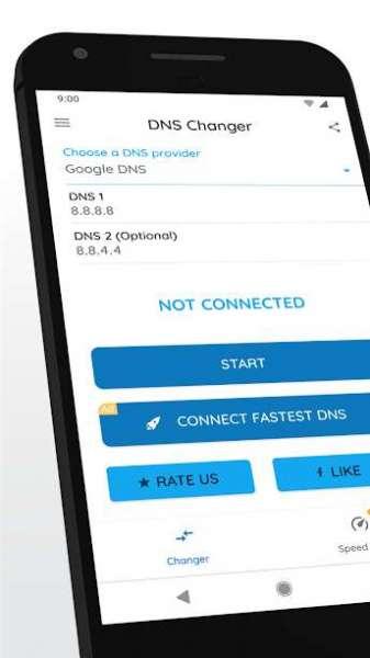 دانلود DNS Changer (no root 3G/WiFi) PRO 1230lgr برنامه تغییر سریع  دی ان اس اندروید