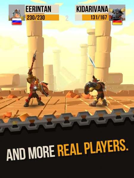 دانلود Duels: Epic Fighting Action 1.7.0 بازی مبارزه ای دوئل و نبردهای حماسی اندروید