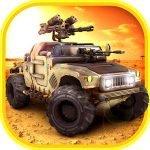 دانلود Gun Rider – Racing Shooter 1.5 بازی مسابقه ای راننده ماشین جنگی اندروید + مود