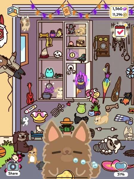 دانلود KleptoDogs 1.10.4 بازی کودکانه و تفننی سگ های بامزه اندروید + مود
