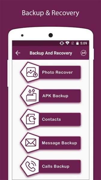 دانلود Recover Deleted All Photos, Files And Contacts Pro 7.3 برنامه بازیابی عکس، فیلم و مخاطبین اندروید