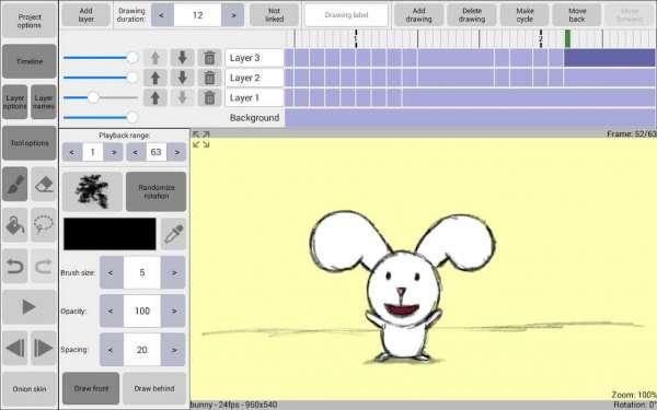 دانلود RoughAnimator 1.7.8 برنامه ساخت انیمیشن اندروید