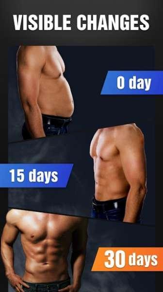 دانلود Six Pack in 30 Days – Abs Workout 1.0.34 برنامه پرورش اندام سیکس پک در سی روز اندروید