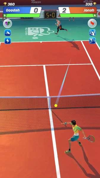 دانلود Tennis Clash: 3D Free Multiplayer Sports Games 2.20.3 بازی اندروید ورزشی آنلاین رقابت های تنیس اندروید