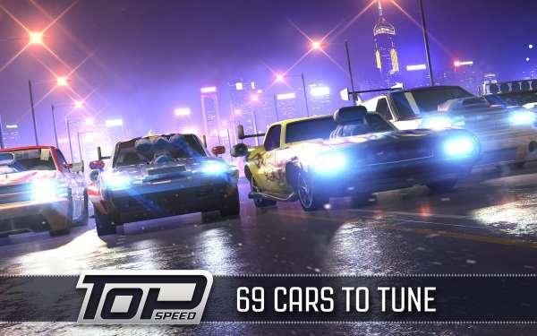 دانلود Top Speed: Drag & Fast Racing 1.38.3 بازی ماشین سواری نهایت سرعت و درگ کشیدن اندروید + مود