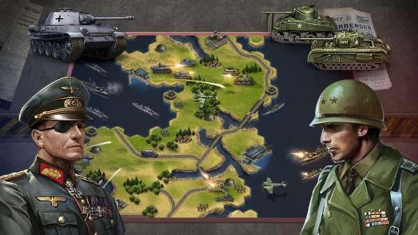 دانلود WW2: Strategy Commander Conquer Frontline 2.9.6 بازی استراتژیک نبردهای خط مقدم در جنگ جهانی دوم اندروید + مود