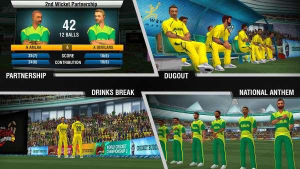 دانلود World Cricket Championship 2 2.9.5 بازی ورزشی مسابقات جهانی کریکت 2 اندروید + مود + دیتا