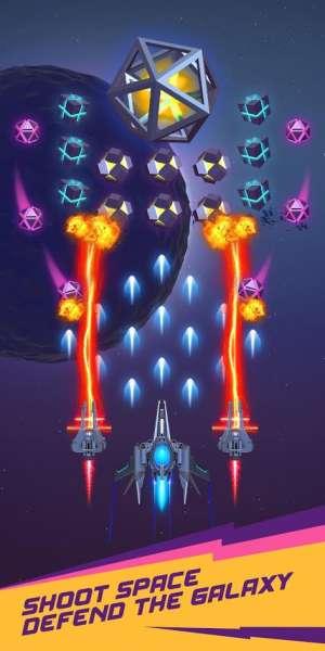 دانلود Dust Settle 3D-Infinity Space Shooting 1.59 بازی آرکید نبردهای فضایی ابدیت اندروید + مود