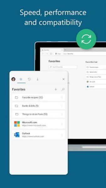 دانلود Microsoft Edge Preview 46.03.24.5155 مرورگر مایکروسافت اج اندروید