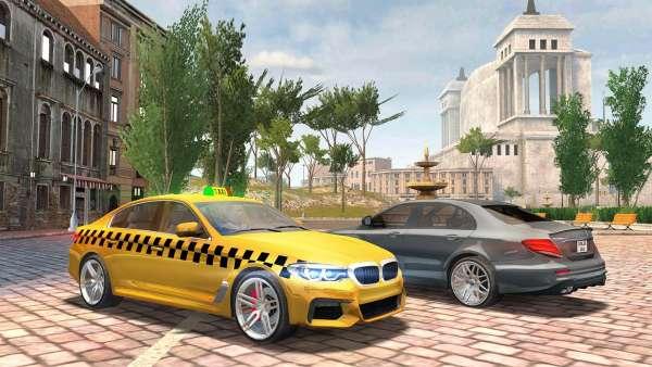 دانلود Taxi Sim 2020 1.2.19 بازی اندروید گرافیکی بی نظیر شبیه ساز تاکسی 2020 + مود + دیتا