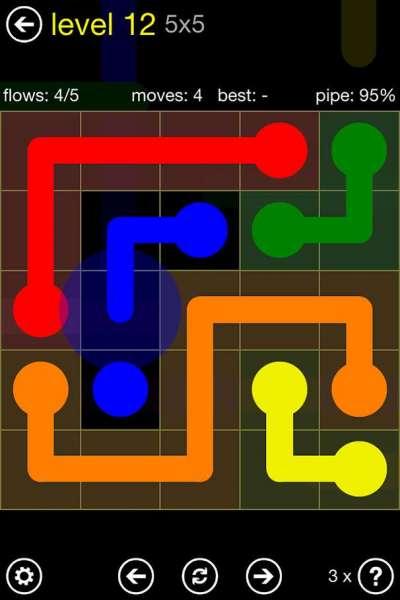 دانلود Flow Free 5.0 بازی پازلی و فکری پرطرفدار جریان آزاد اندروید + مود