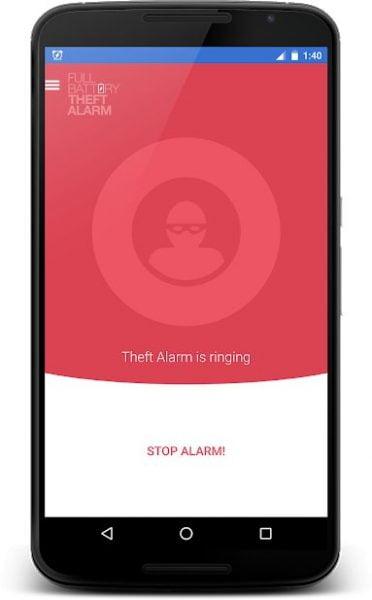 دانلود Full Battery & Theft Alarm Pro 5.5.1r376 برنامه اعلام هشدار پر شدن باطری و ضد سرقت اندروید