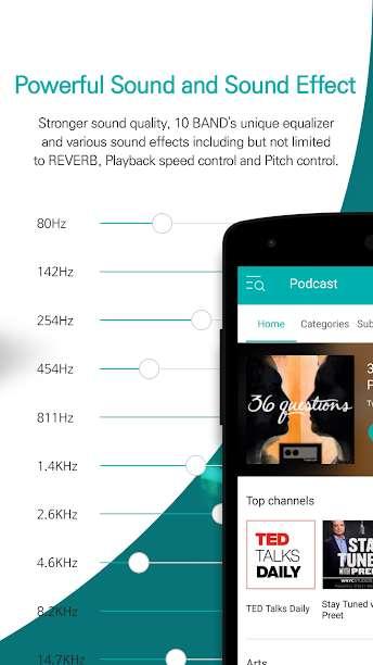 دانلود GOM Audio Plus – Music, Sync 2.3.9 موزیک پلیر اندروید با نمایش متن آهنگ