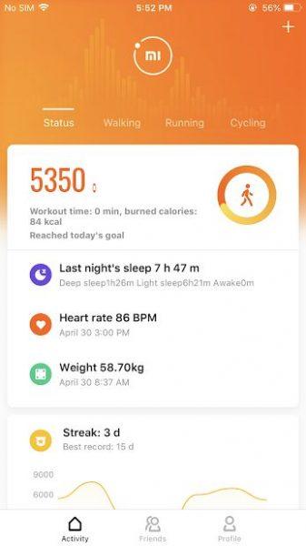 دانلود Mi Fit 5.3.2 برنامه ثبت و تجزیه و تحلیل فعالیت ها ورزشی اندروید