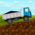 دانلود Mini Trucker – 2D offroad truck 1.4.0 بازی اندروید شبیه سازی کامیون های باربر کوچک در جاده های ناهموار