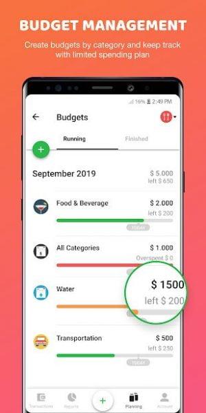 دانلود Money Lover Money Manager 6.8.0 برنامه مدیریت مالی اندروید