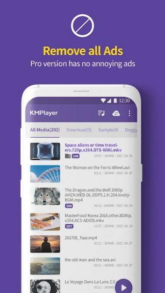 دانلود KMPlayer HD 20.07.023 برنامه قدرتمند کی ام پلیر