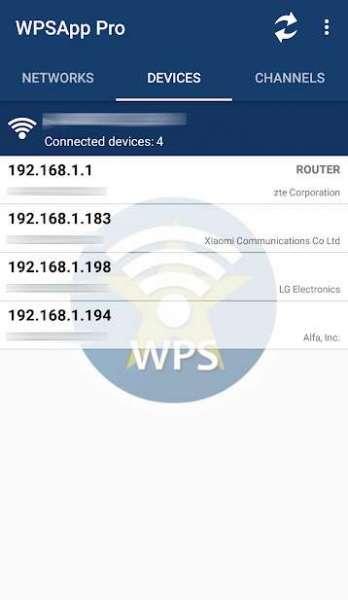 دانلود WPSApp Pro 1.6.50 برنامه بررسی امنیت شبکه وای فا برای اندروید