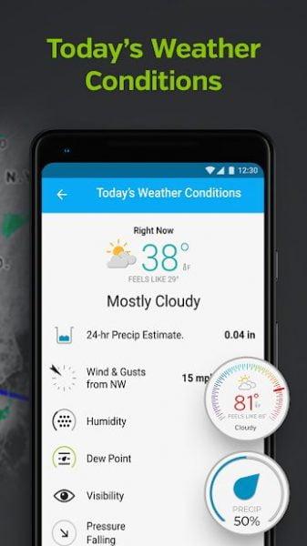 دانلود Weather Underground: Forecasts Premium 6.10.0 اپلیکیشن پیش بینی دقیق آب و هوا اندروید