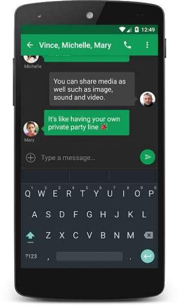 دانلود chomp SMS Pro 8.40 برنامه مدیریت حرفه ای پیامک ها اندروید