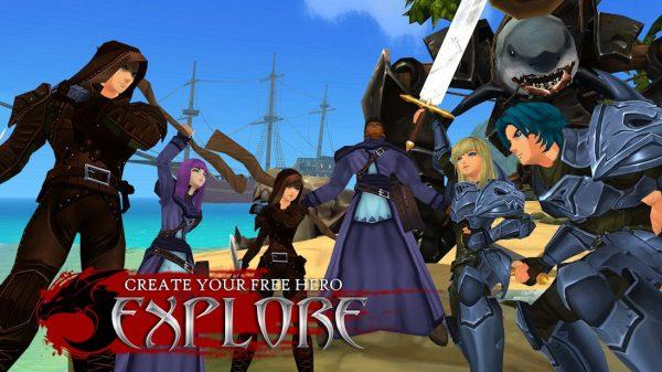 دانلود AdventureQuest 3D MMO 1.41.1 بازی زیبای ماموریت های ماجراجویانه اندروید