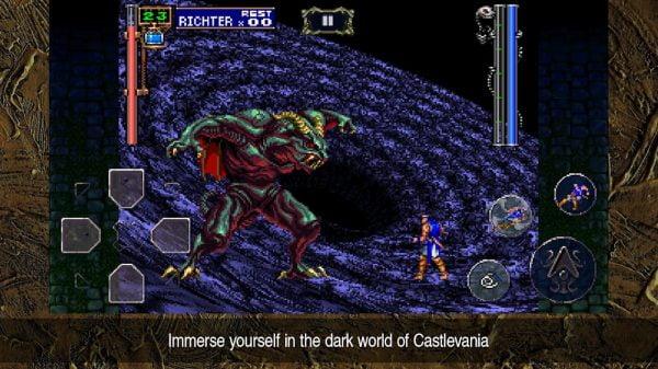 دانلود Castlevania: Symphony of the Night 1.0.1 بازی اکشن کستلوانیا سمفونی شبانه اندروید + دیتا