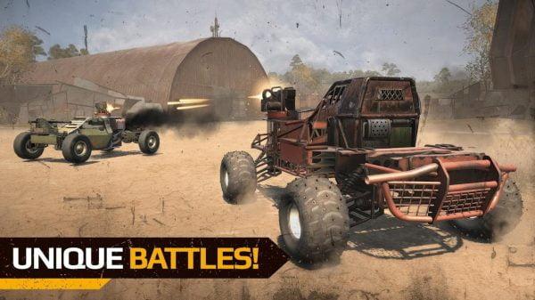 دانلود Crossout Mobile 1.0.8.43314 بازی اکشن رقابتی گذرگاه اندروید