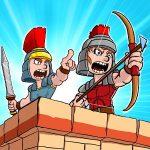 """دانلود Empire Rush: Rome Wars & Defense 2.7.8 بازی برج دفاعی """"حمله به امپراطوری"""" اندروید + مود"""
