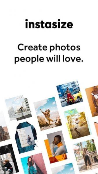 دانلود InstaSize-Photo Editor Pro 4.0.70 برنامه ویرایش سایز و کیفیت تصاویر اینستاگرام اندروید