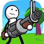 دانلود One Gun: Stickman 2.2 بازی اکشن و کم حجم استیکمن تیرانداز اندروید + مود